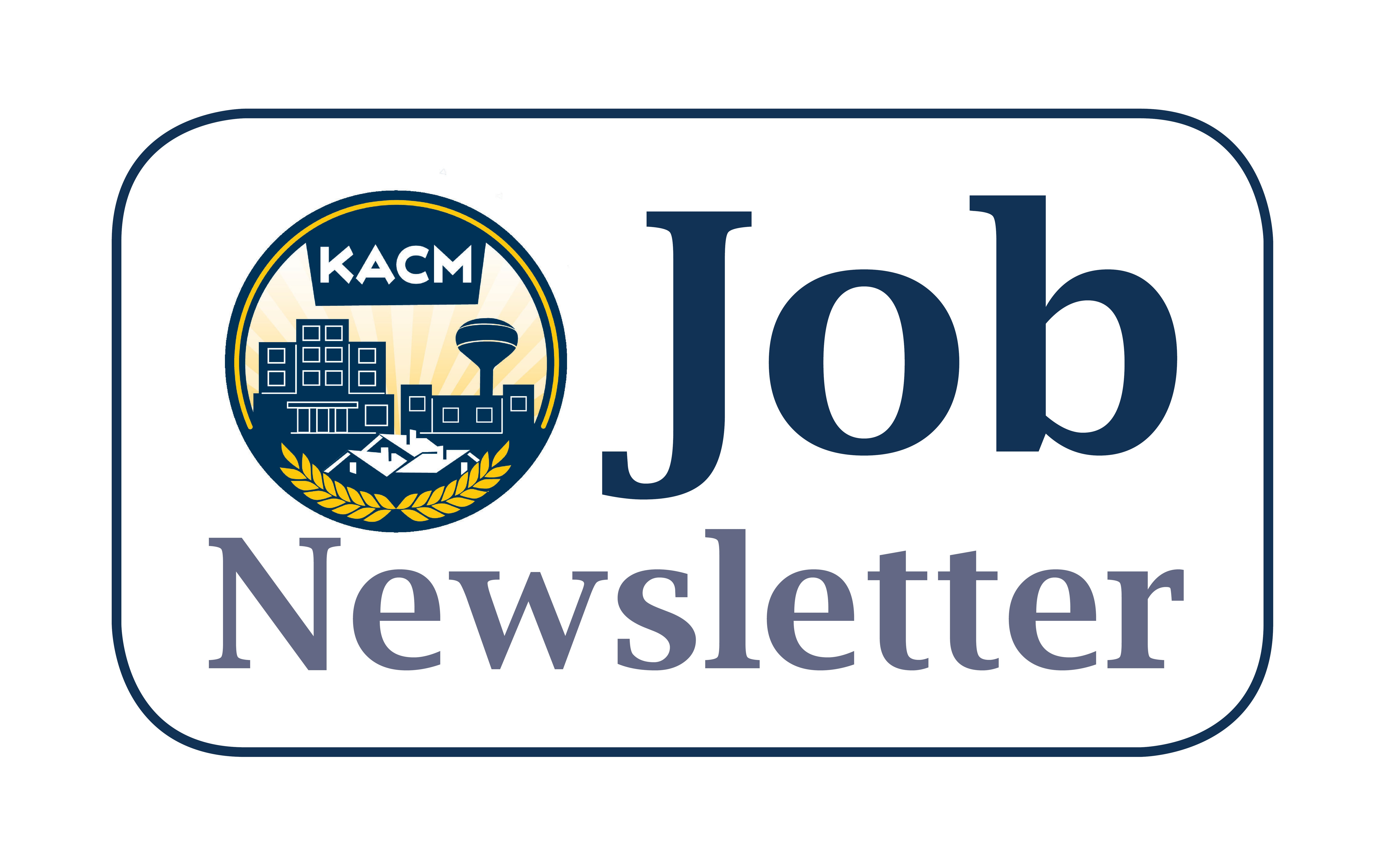 KACM Job Newsletter